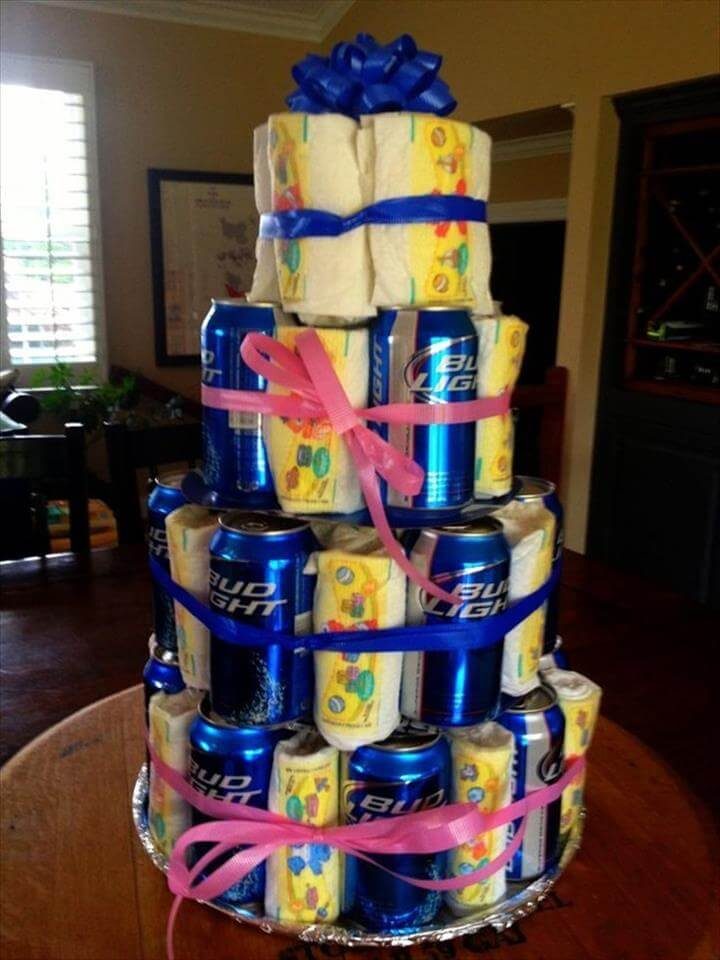 82 Diaper Cake Ideas That Are Easy To Make Page 2 Of 5