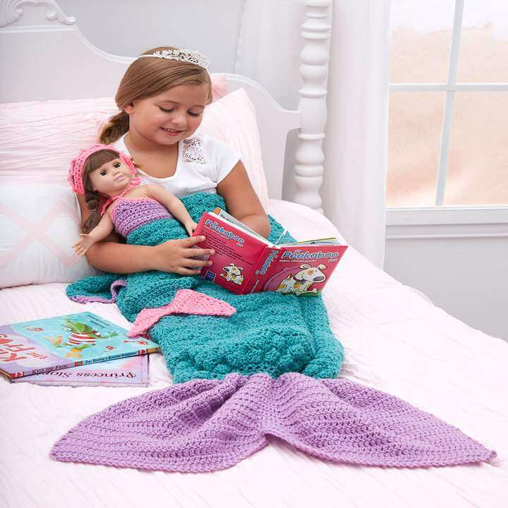 Easy Crochet Pattern For Mermaid Blanket : Top 50 Free Crochet Patterns You Should Try This Season ...