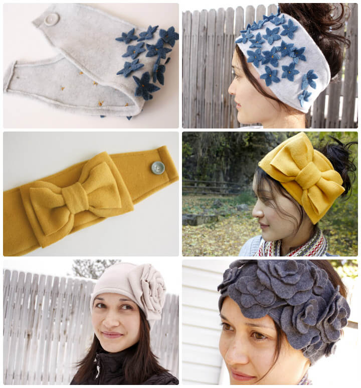 how to make cool ear warmers