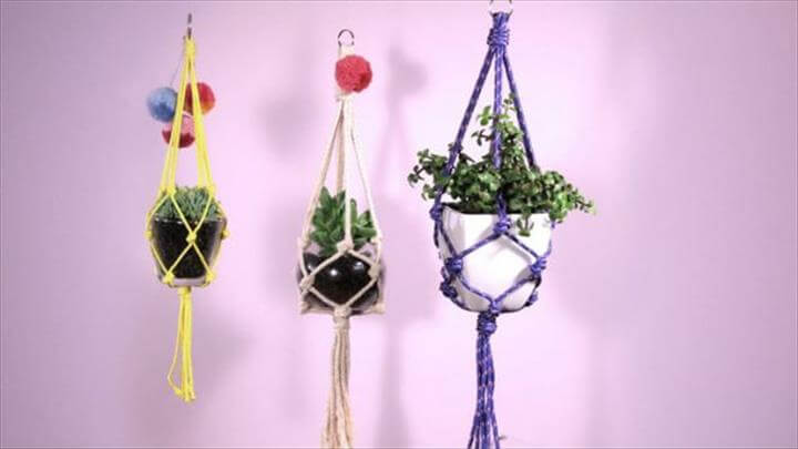 25 DIY Plant Hangers with Full Tutorials