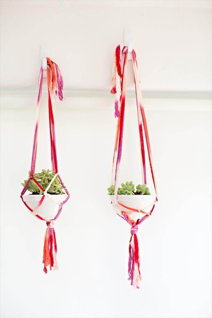 25 Diy Plant Hangers With Full Tutorials Diy Amp Crafts