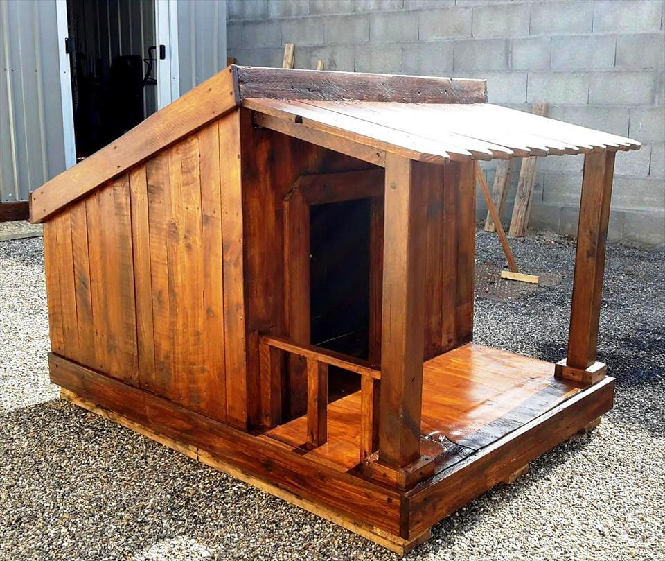 Pallet Dog House Step By Plan DIY amp Crafts