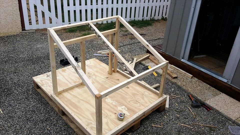 Pallet Dog House Step By Step Plan Diy Crafts
