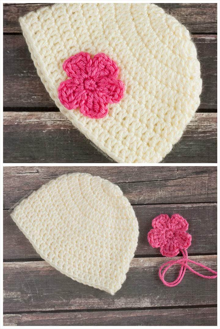 50 Free Adorable Baby Crochet Hat Patterns - Page 2 of 5 ...