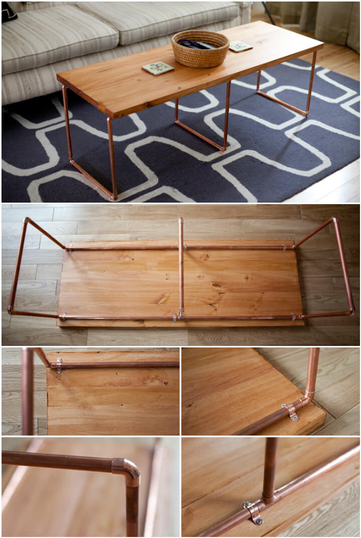 Image Result For Skid Coffee Table Diy
