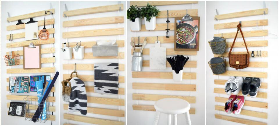 IKEA hack multifunctional kitchen rack