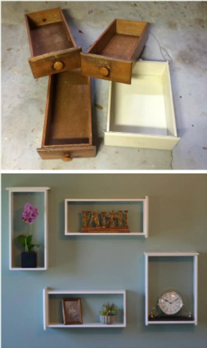 50 DIY Shelves - Build Your own Shelves - DIY & Crafts