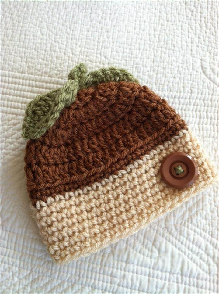 Crochet Baby Helmet Pattern Free : 50 Free Adorable Baby Crochet Hat Patterns - Page 2 of 5 ...