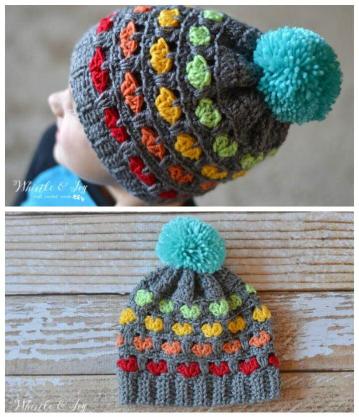 50 Free Adorable Baby Crochet Hat Patterns - Page 3 of 5 ...