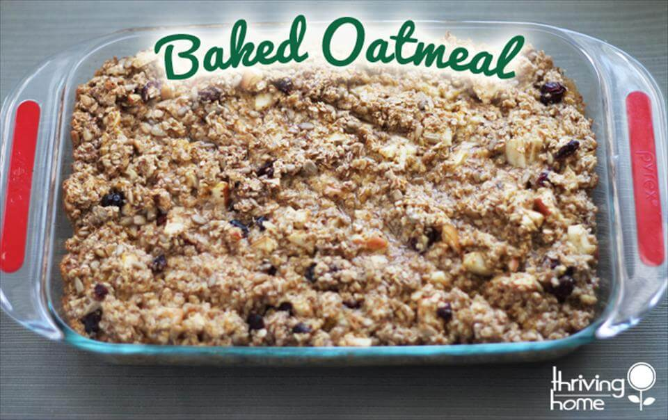 baked oatmeal for a crowd