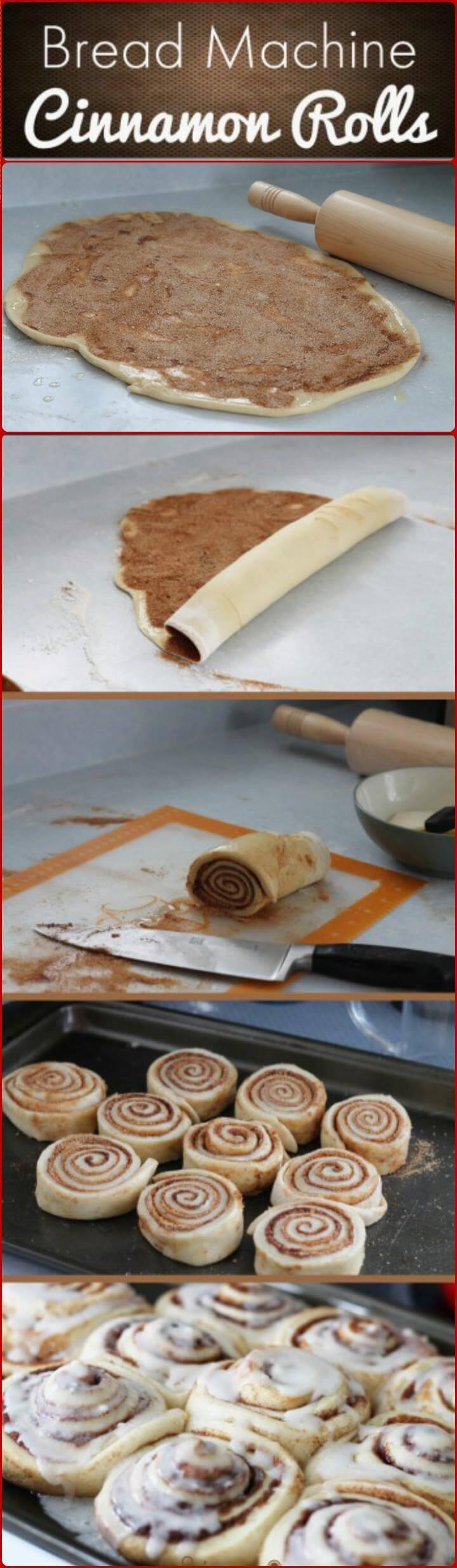 cheap yet delicious bread machine cinnamon rolls