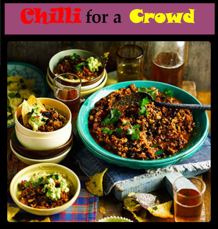 chilli for a crowd