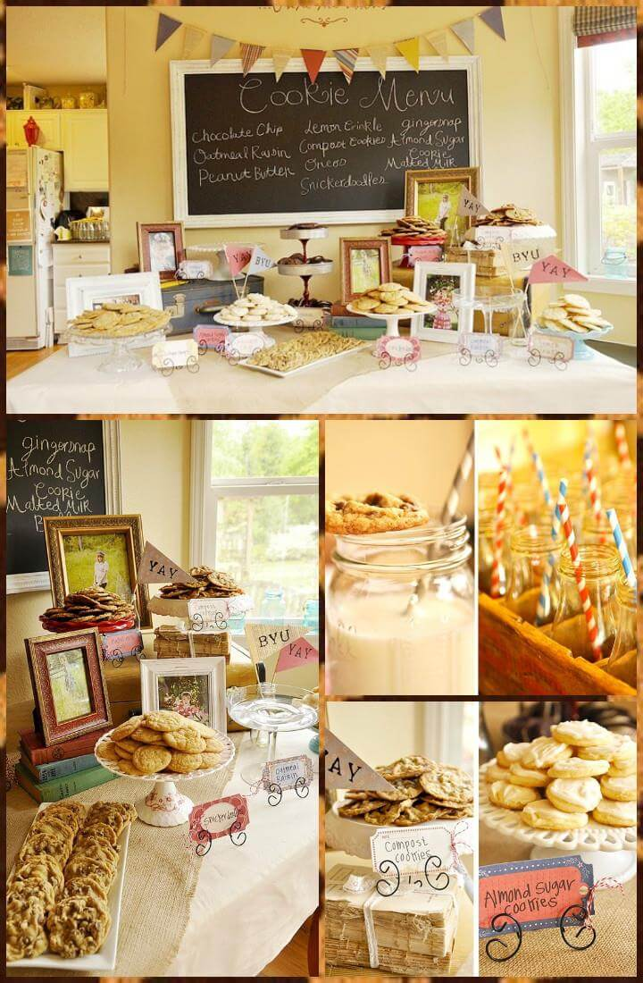 cookies graduation party theme