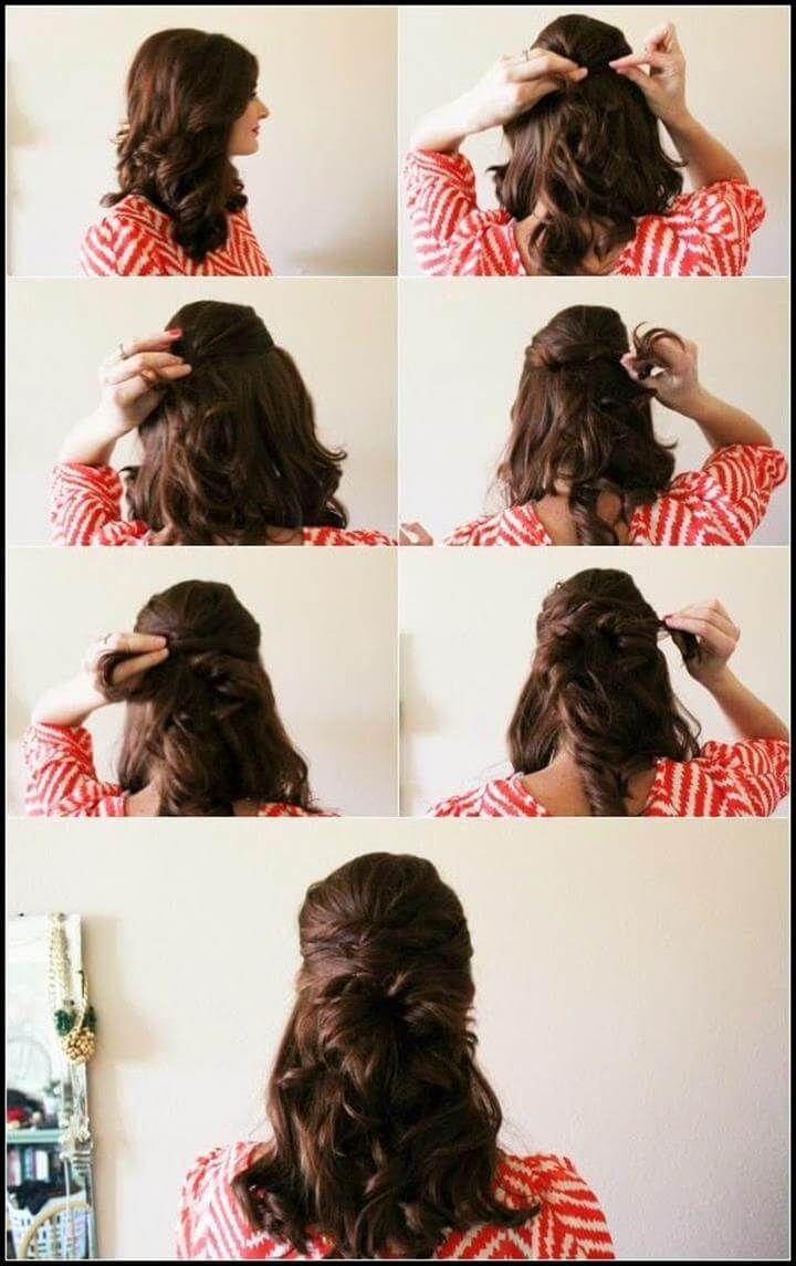 25 Diy Hairstyles You Can Do With These Step By Step Tutorials Diy Crafts
