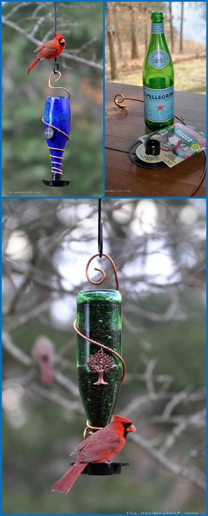 Diy Glass Bird Feeders