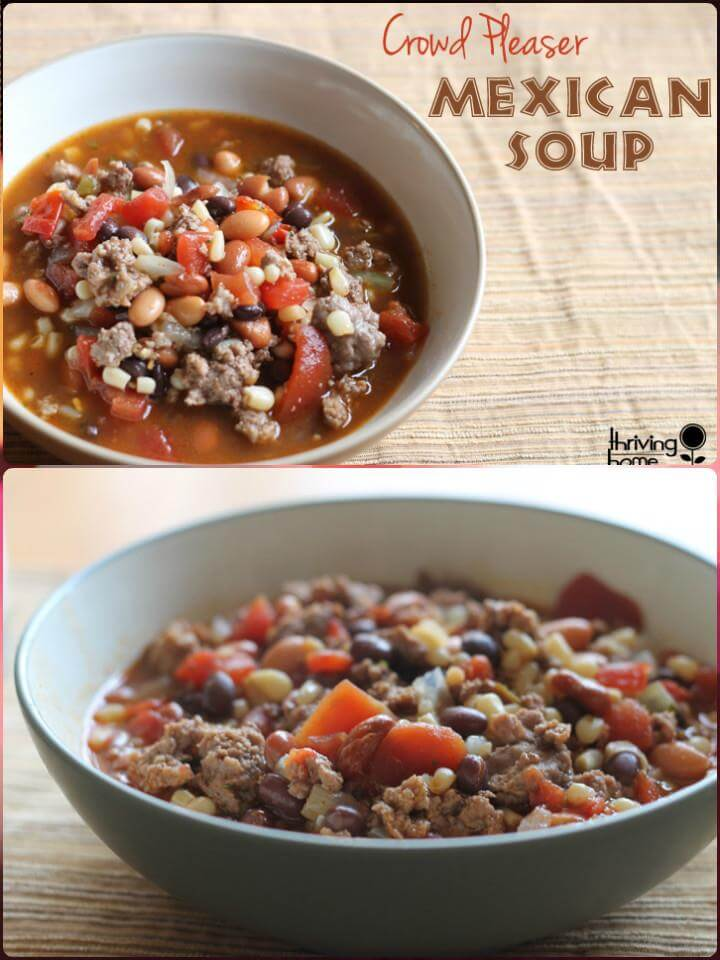 mexican soup recipe for large groups