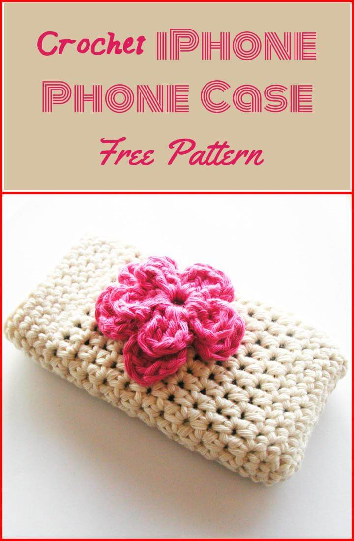 Free Crochet Pattern For I Phone Case : 50 Free Crochet Phone Case Patterns - Page 3 of 5 - DIY ...