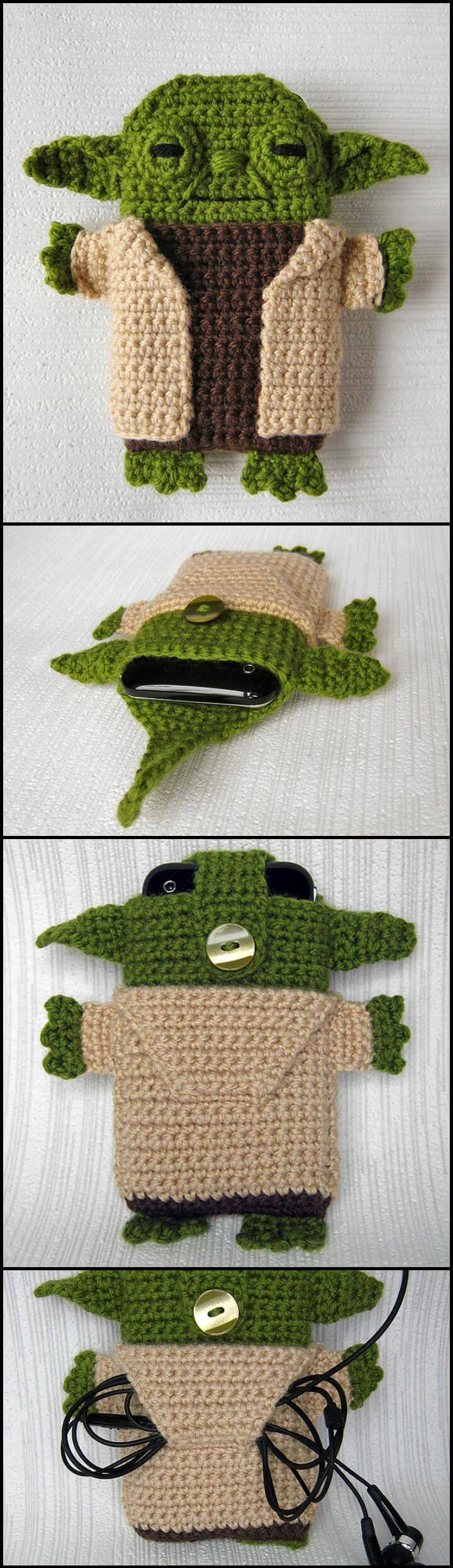 Free Crochet Star Hook Case Pattern : 50 Free Crochet Phone Case Patterns - Page 3 of 5 - DIY ...