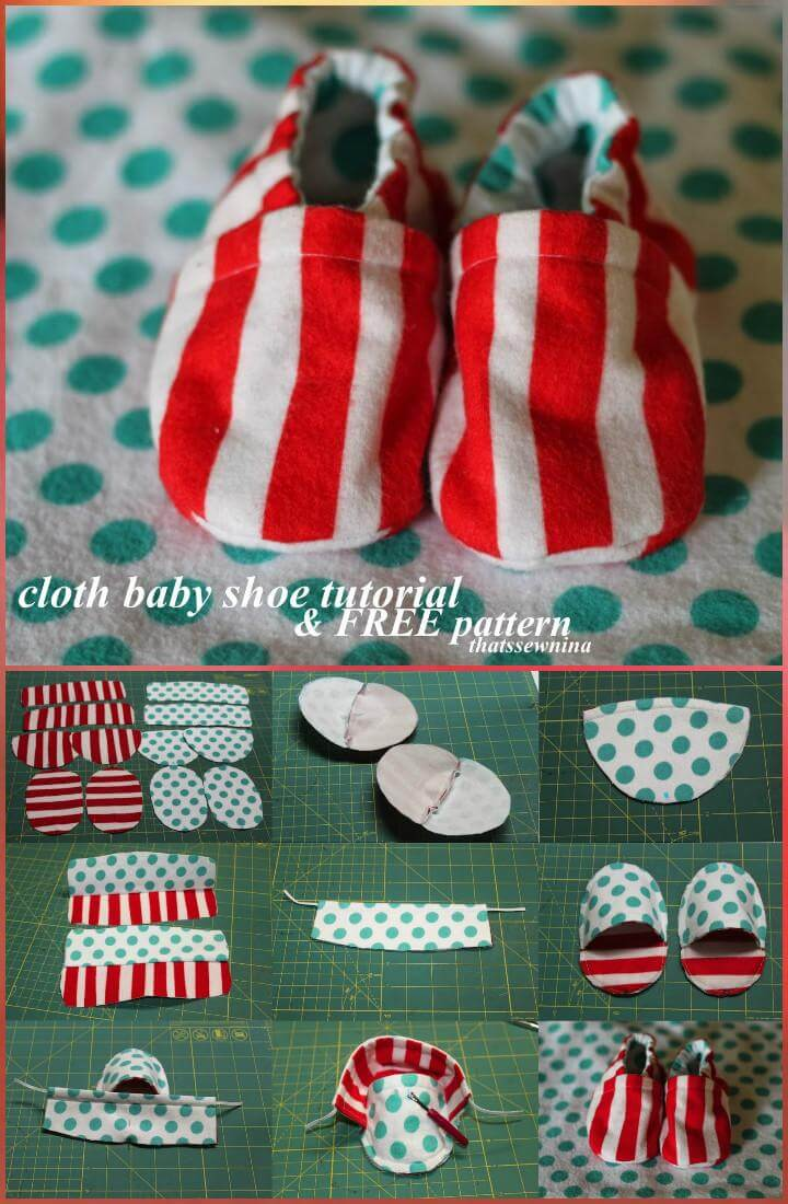 handmade cloth baby shoes