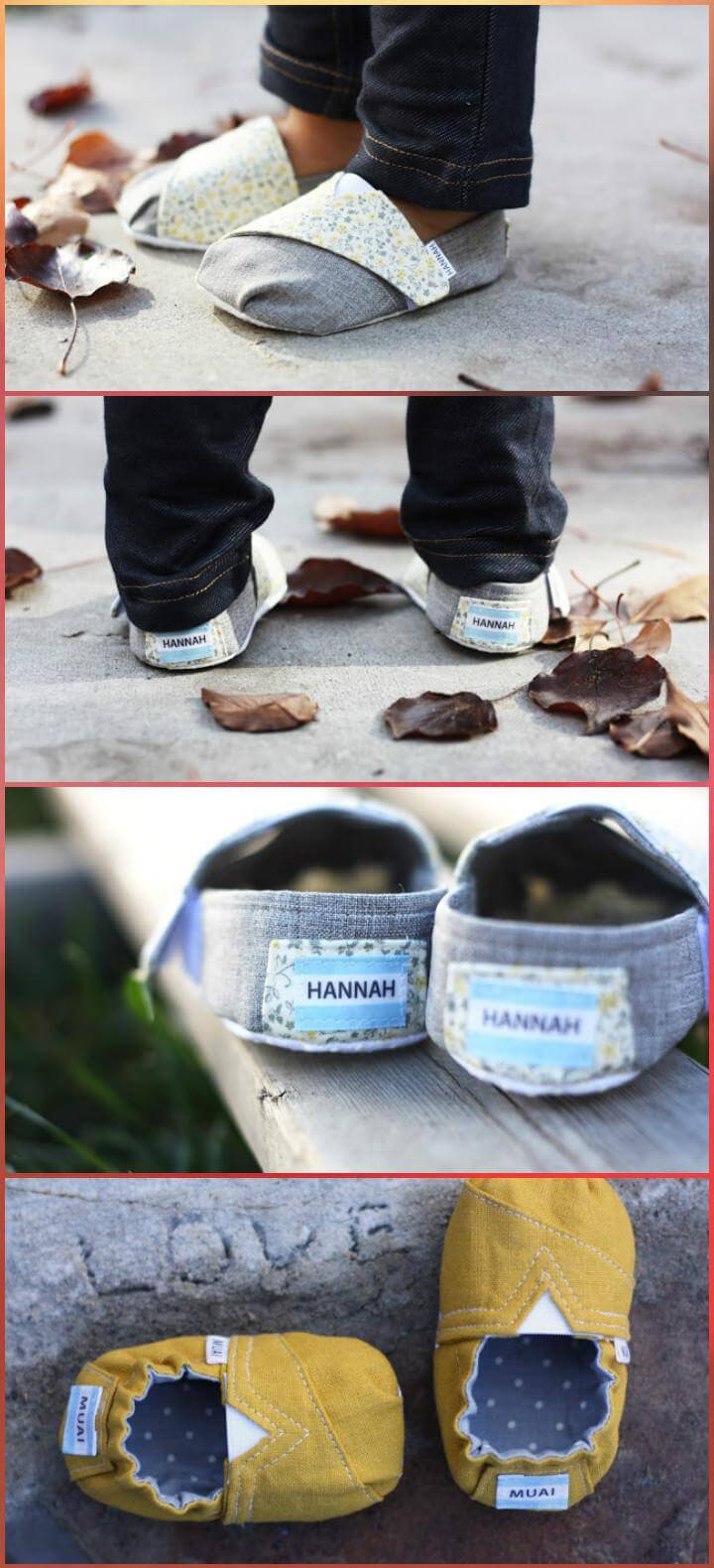 adorable toms inspired baby and toddler shoes