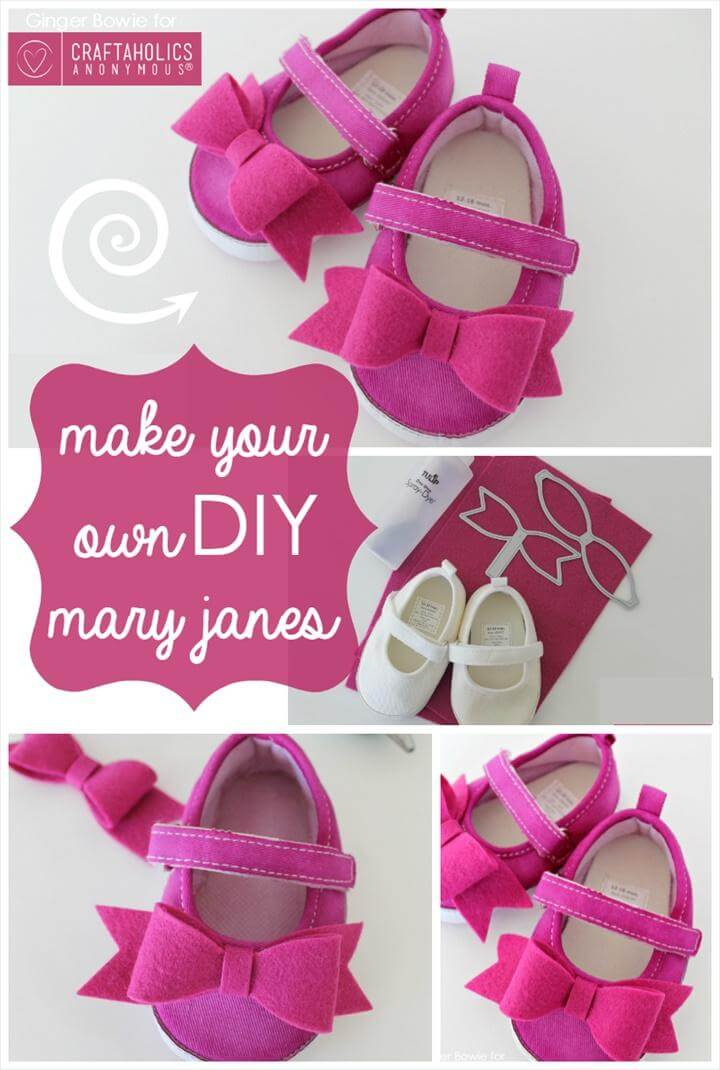easy yet stylish DIY Mary Janes