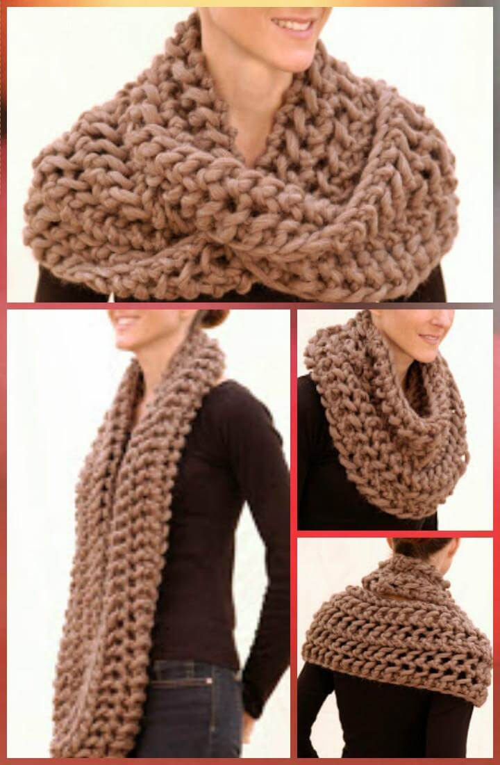 super chunky infinity scarf