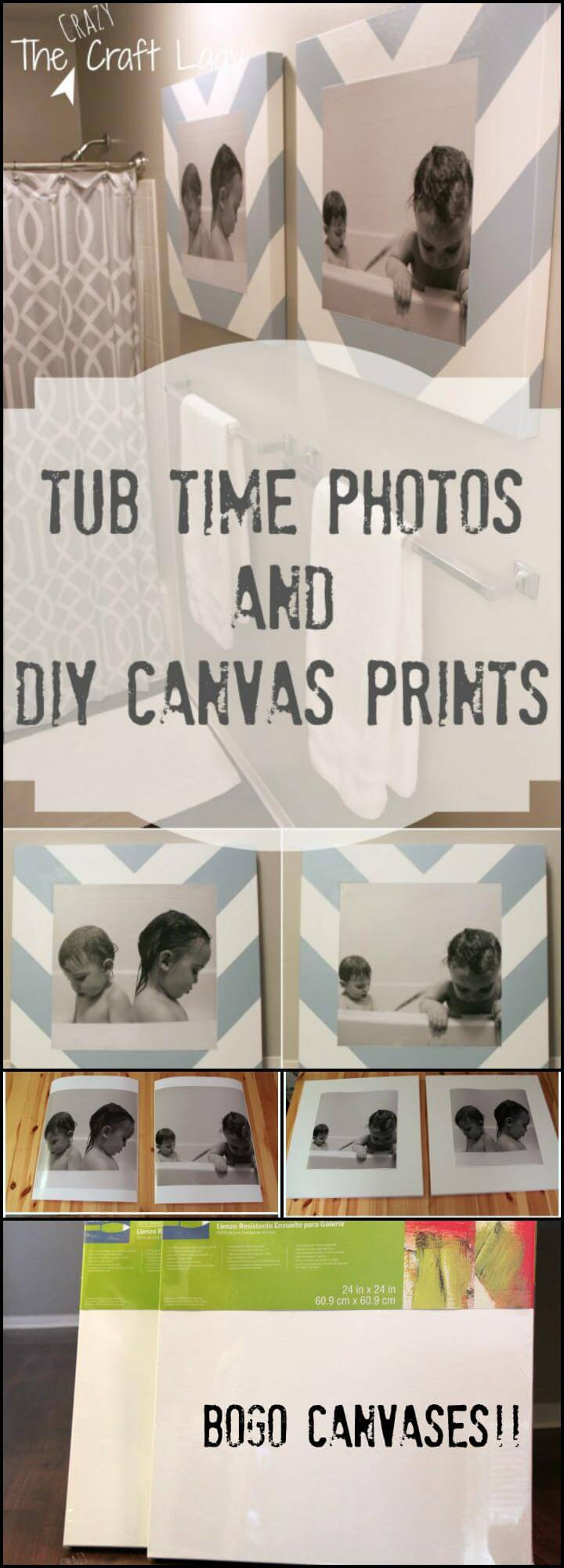 beautiful bathroom time photos and DIY canvas prints