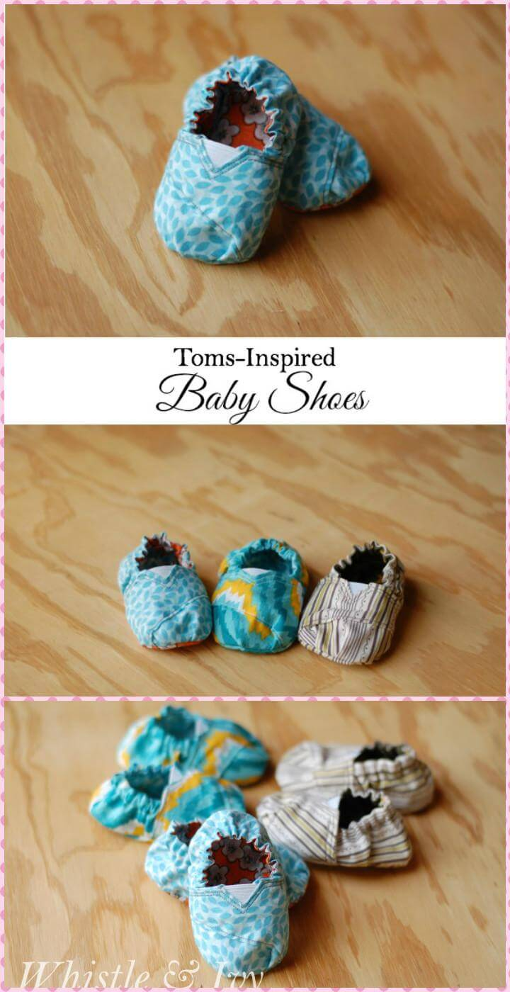 handcrafted tom-inspired baby shoes
