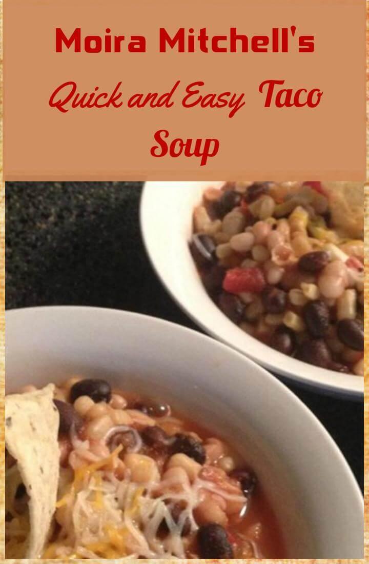 yummy Moira Mitchell's taco soup
