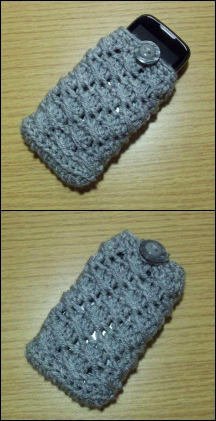 50 Free Crochet Phone Case Patterns - Page 5 of 5 - DIY ...