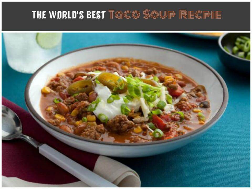 delicious and healthy taco soup