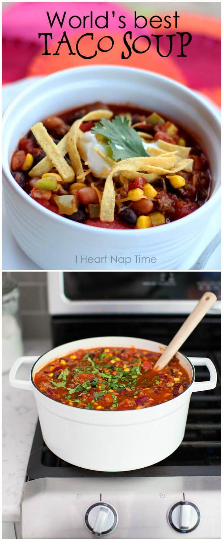 easy and world's best taco soup recipes