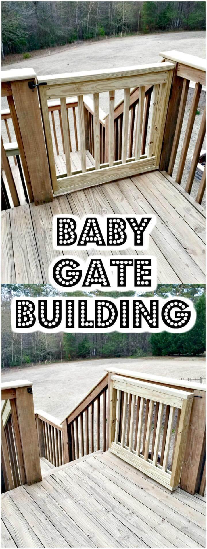 30 Best Diy Baby Gate Tutorials On Cheap Budget Diy Amp Crafts
