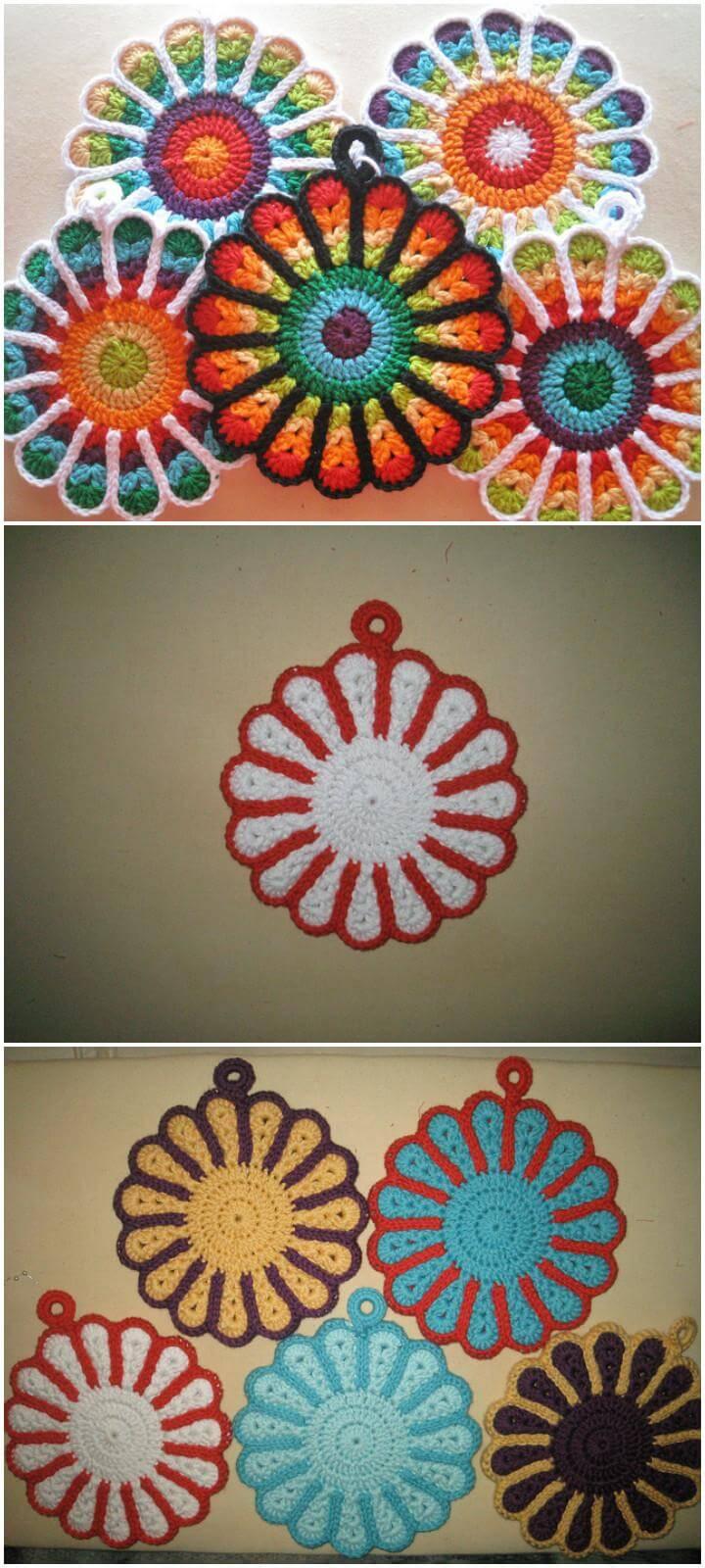 Mandala Market Gardens The Layout: 60+ Free Crochet Mandala Patterns