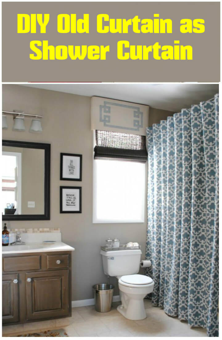 24 Diy Home Decor Projects Using Old Curtains Diy Amp Crafts