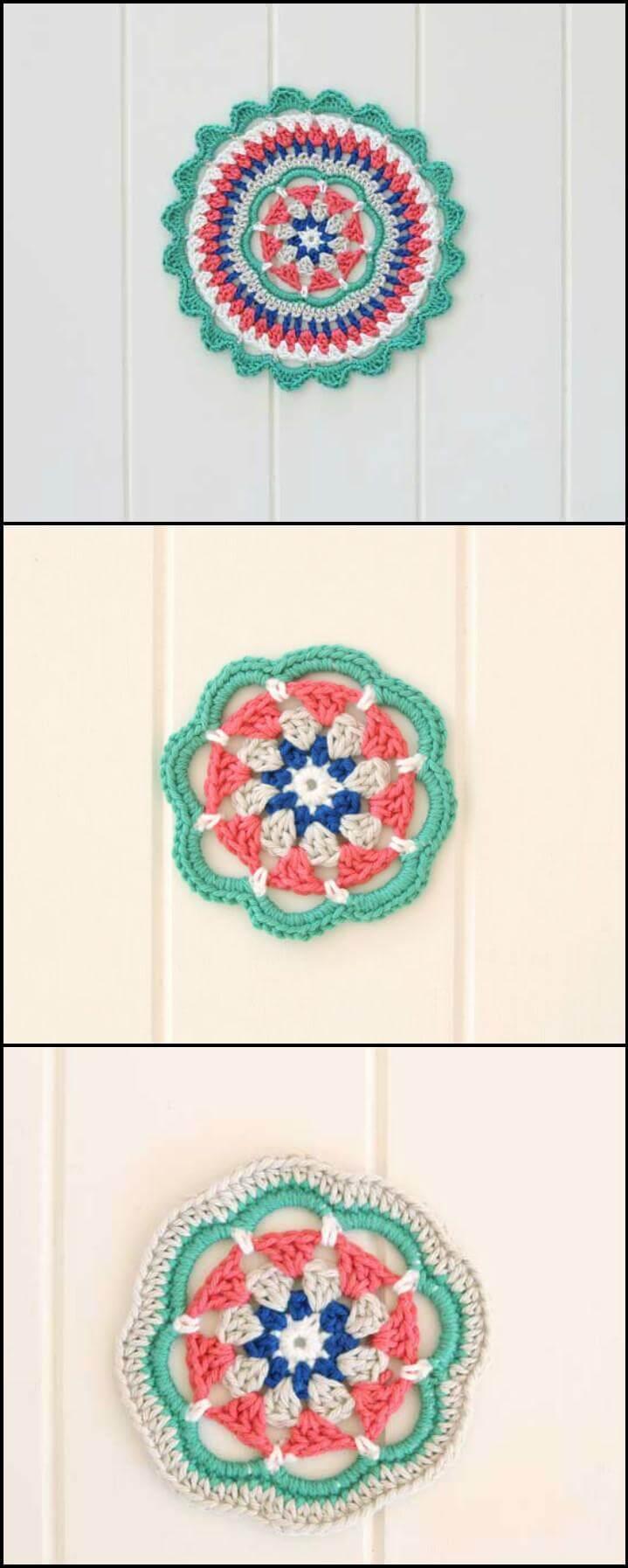 60 Free Crochet Mandala Patterns Page 10 Of 12 Diy