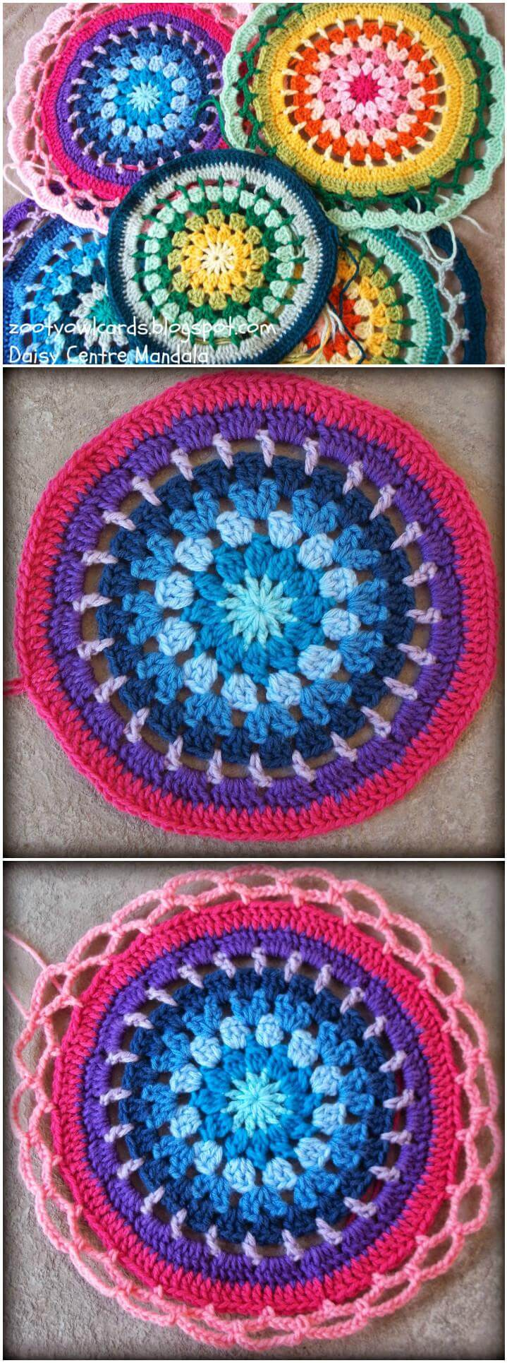 60 Free Crochet Mandala Patterns Page 7 Of 12 Diy