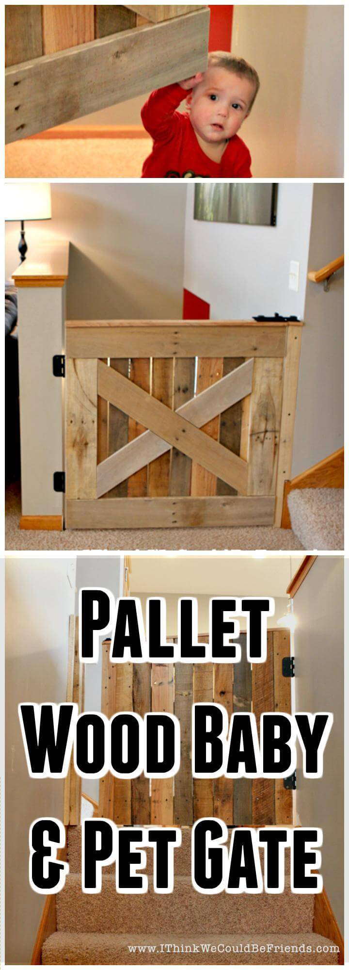 13 Diy Dog Gate Ideas: 30 Best DIY Baby Gate Tutorials On Cheap Budget