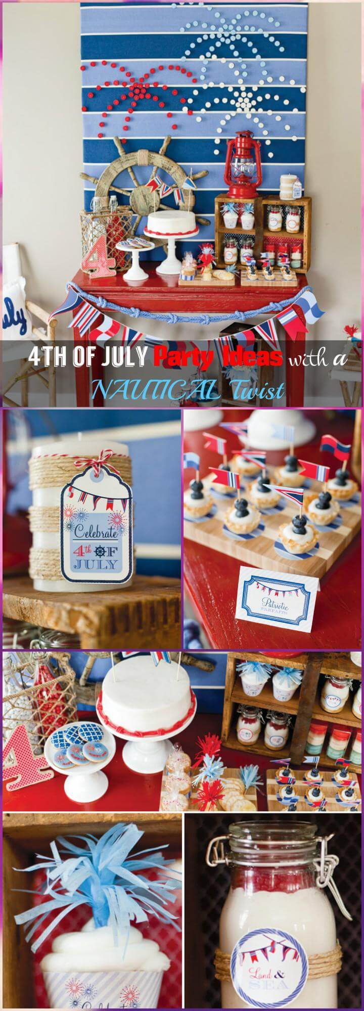 30 diy 4th of july decorations patriotic diy fourth of for 4 of july decorations