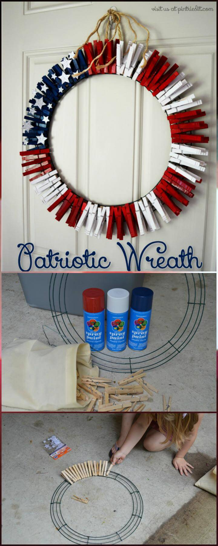 30 Diy 4th Of July Decorations Patriotic Diy Fourth Of July Decor Projects
