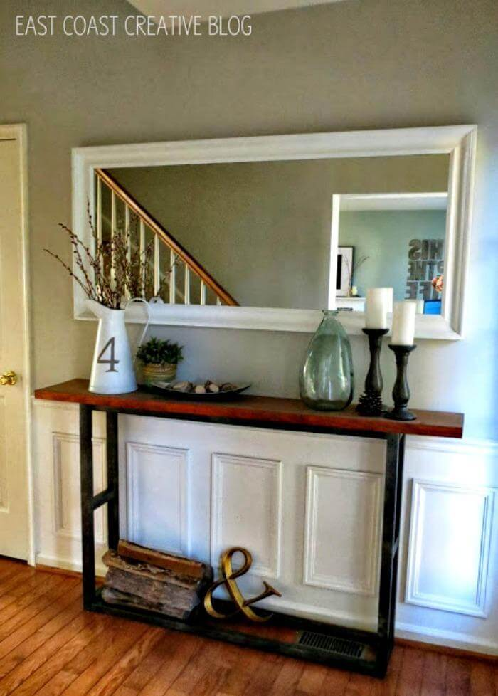 25 Best Diy Entryway Table Ideas With Tutorials Page 2