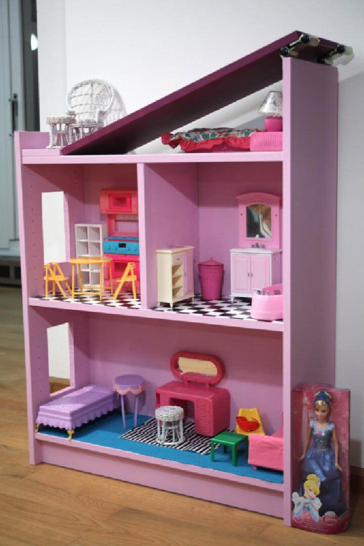 DIY Covertible IKEA BILLY Princess Row House