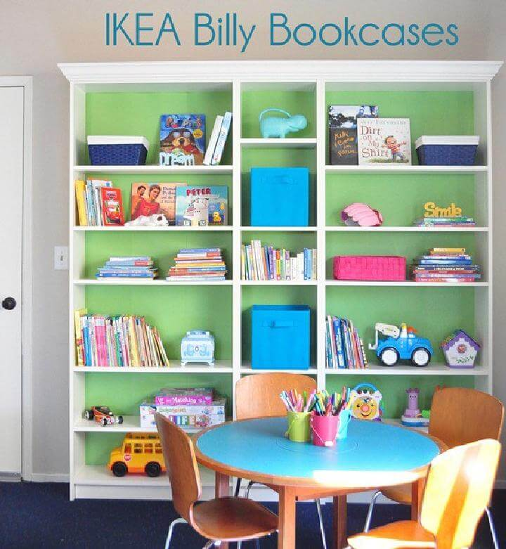 Ikea Orlando Young Child And Smaller Space Showroom: 30 DIY Amazingly Smart IKEA BILLY Hacks