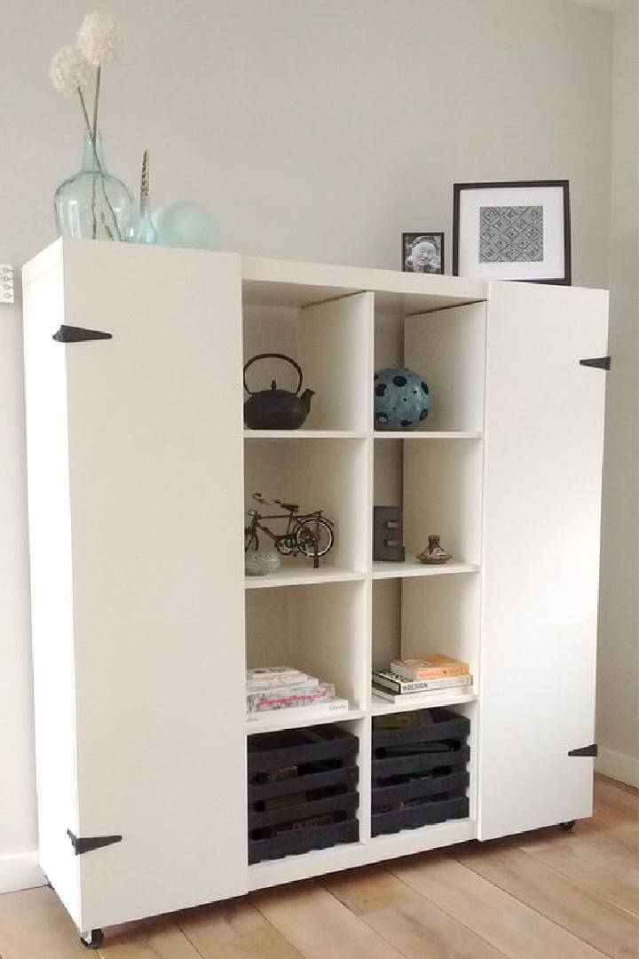 60 ikea kallax shelf hacks or diy expedit shelf page 7. Black Bedroom Furniture Sets. Home Design Ideas