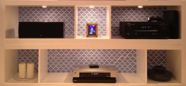 DIY IKEA Kallax Shelves with Integrated LED Lights