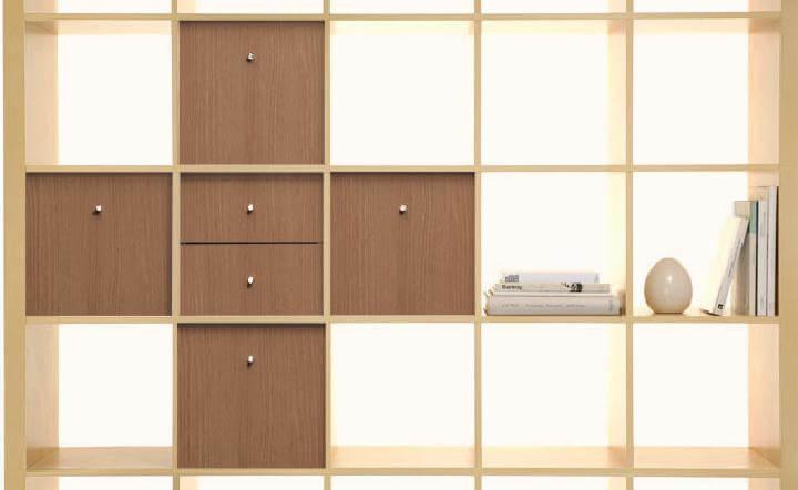 DIY IKEA Kallax Shelving and Storage Unit