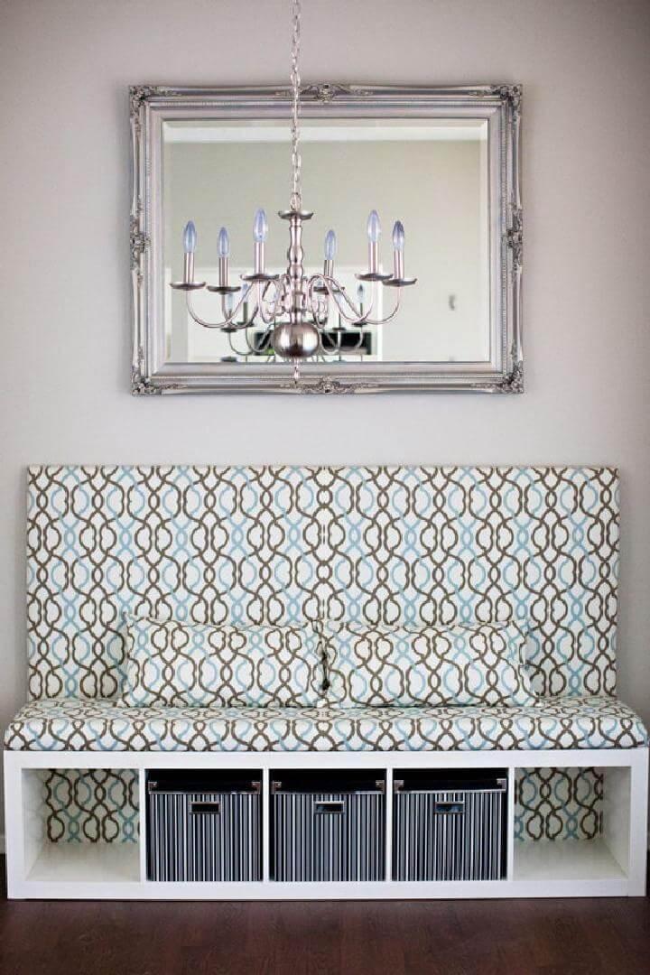 DIY Ikea Kallax Banquette Seat