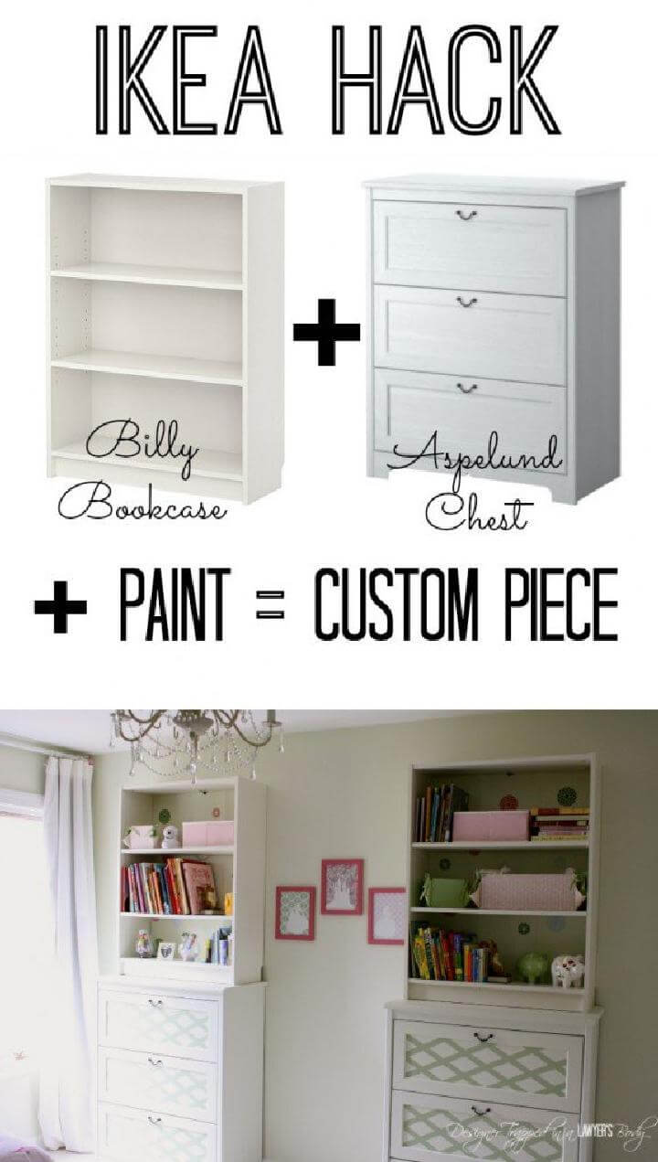 30 Diy Amazingly Smart Ikea Billy Hacks Page 2 Of 3