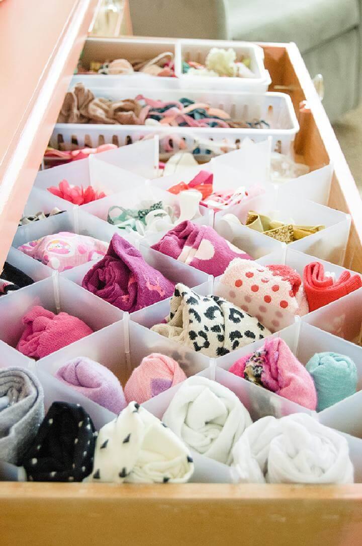 Diy 20 Insanely Genius Ways To Organize Baby Clothes Diy