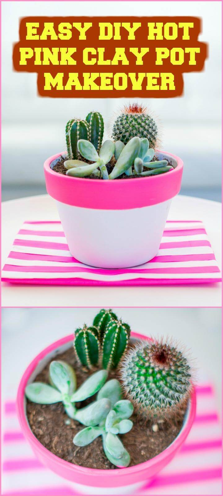 25 best diy planters you should make for your home page 2 of 5 diy crafts - Why you should cook clay pots ...